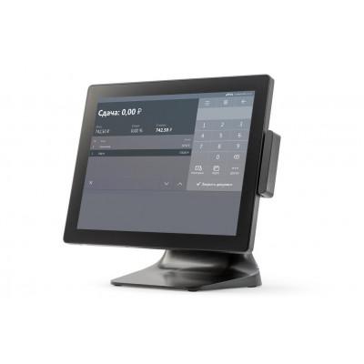 "Сенсорный терминал АТОЛ Smart Plus [E915, 15"", P-CAP, Intel Celeron J1900 2.0/2.4 GHz, SSD, 4 GB DDR3L], MSR, без ОС"