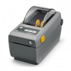 Принтер печати этикеток Zebra ZD410, термопринтер, 203 dpi, USB, USB Host, серый ZD41022-D0E000EZ