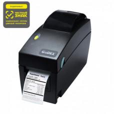 Принтер печати этикеток Godex DT2x 203 dpi, ширина печати 56мм, USB+RS232+Ethernet