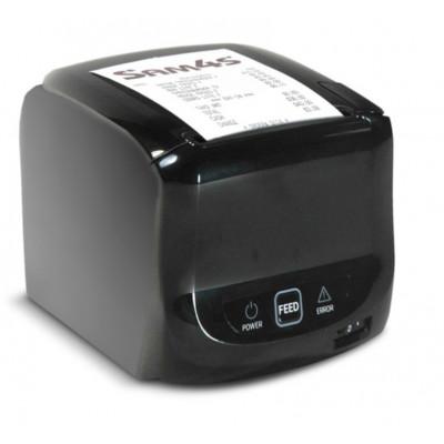 Принтер чеков Sam4s Ellix 50, COM/USB/Ethernet, черный, с кабелем COM